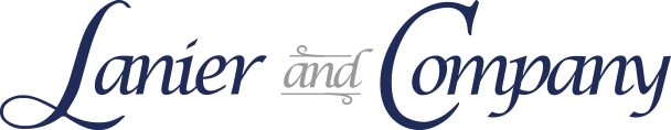 Lanier and Company logo
